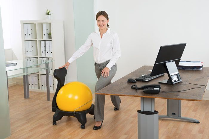 How To Choose And Use An Exercise Ball Chair Plus