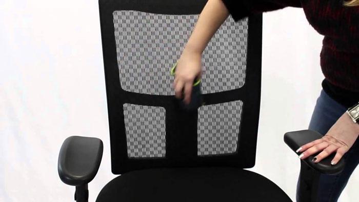 Clean A Mesh Office Chair